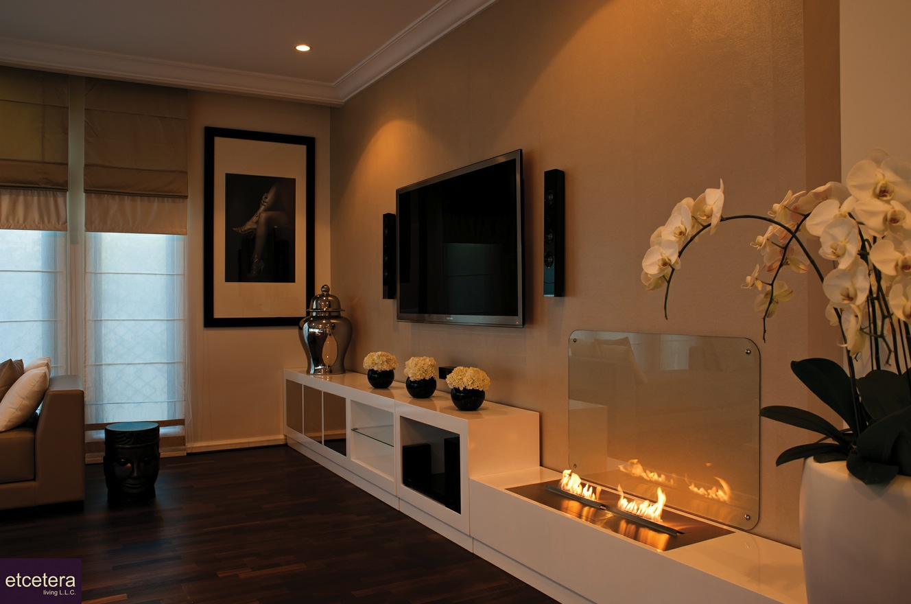 Modern Fireplace For Contemporary House Design