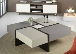 modern coffe table with storage