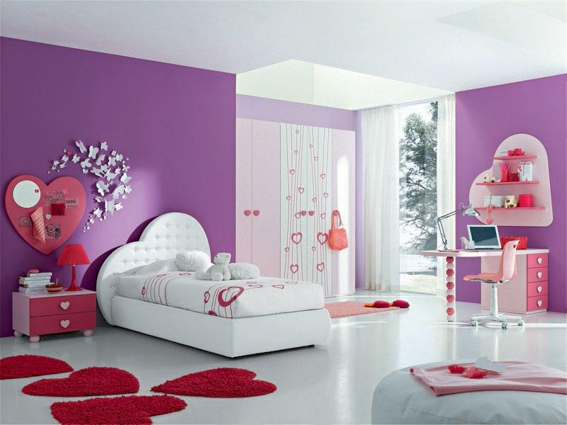 painting-ideas-for-the-girls-bedroom-wall