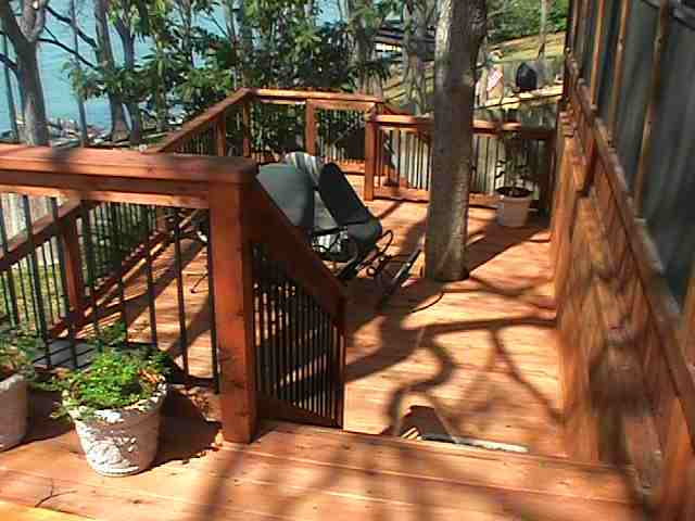 patio and wooden deck designs & pictures