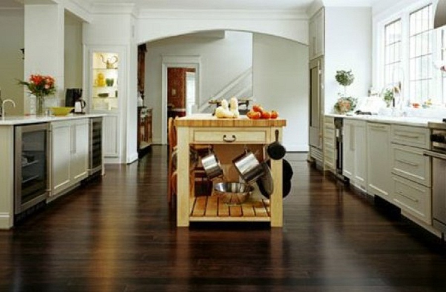 Flooring Options For kitchens with Laminated Black Kitchen Flooring Ideas