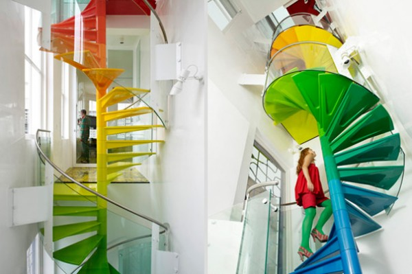 Top 10 Brilliant Staircase Designs Ideas The Rainbow House Stairs