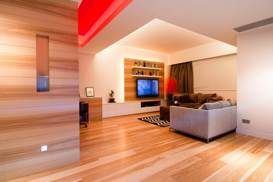 Modern Apartment Design Ideas With Wood Element