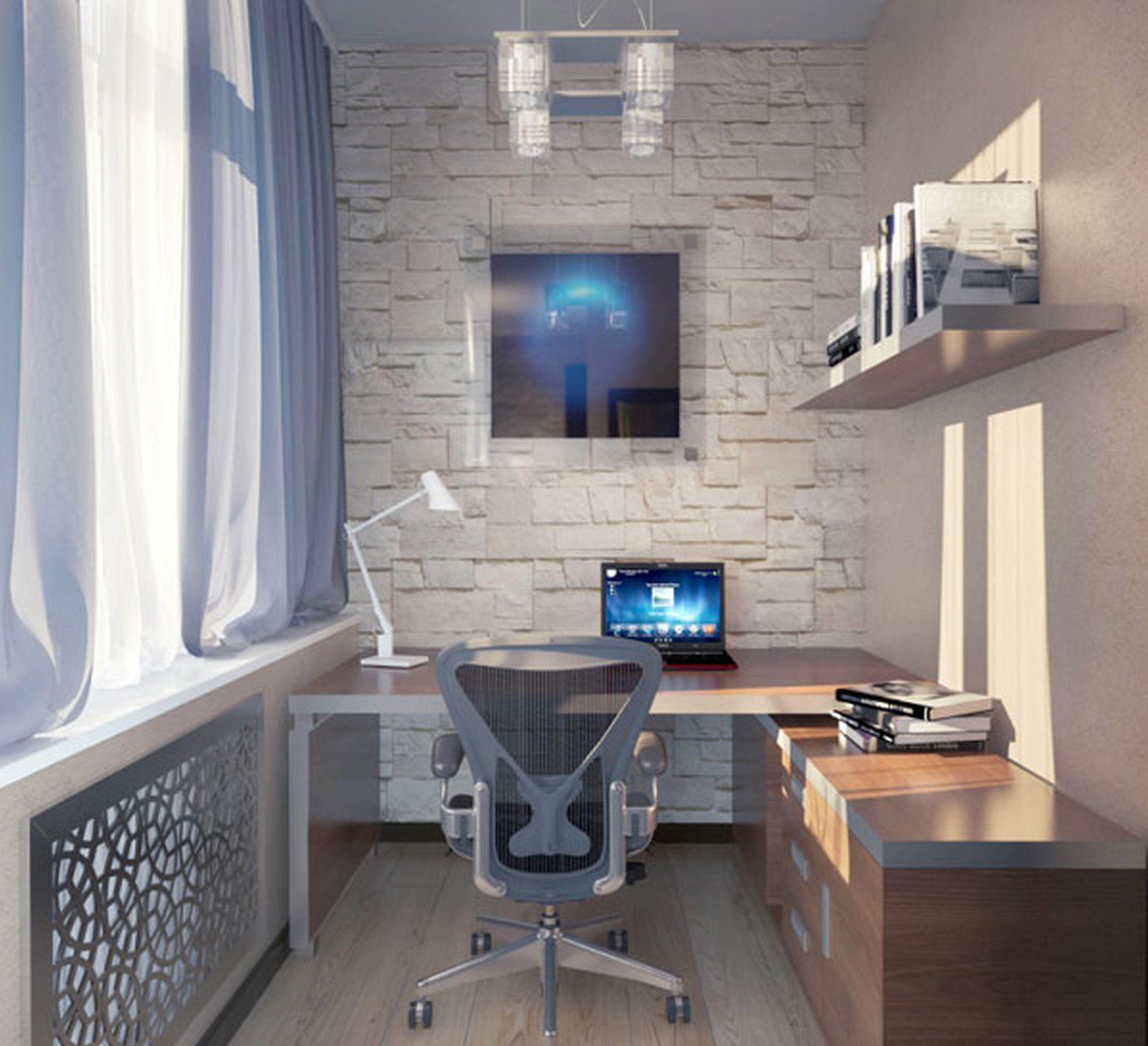 Cool home office decor ideas for small space