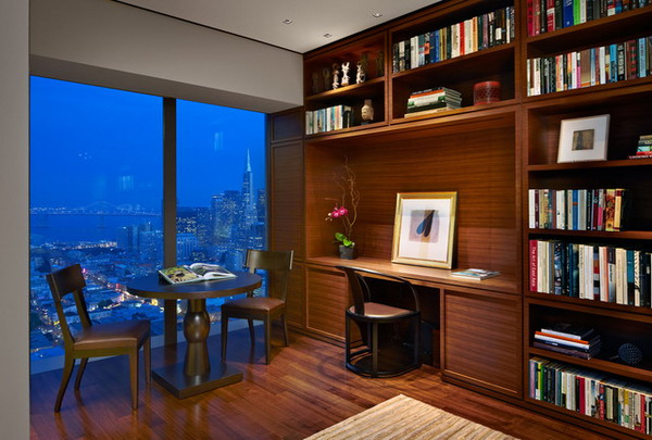Home office decorating ideas for small apartment