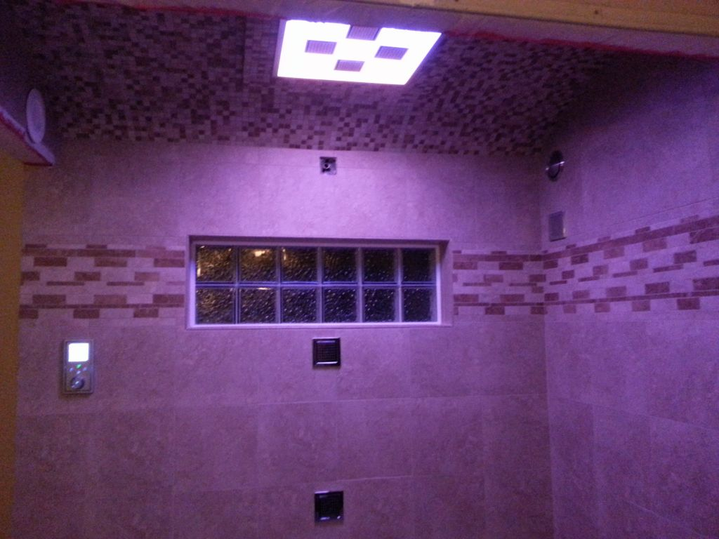 Steam Shower With Rain Head Complete Led Lighting