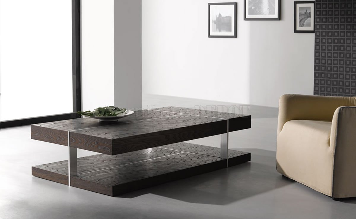 contemporary coffee table furniture design from solid wood