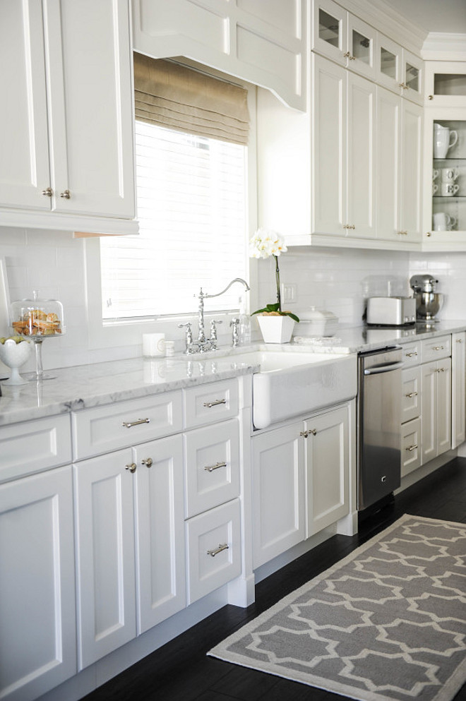 Beautiful White Kitchen Cabinet Doors With Modern Fresh Look
