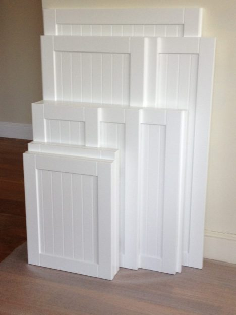 White Kitchen Cabinet Doors Replacement