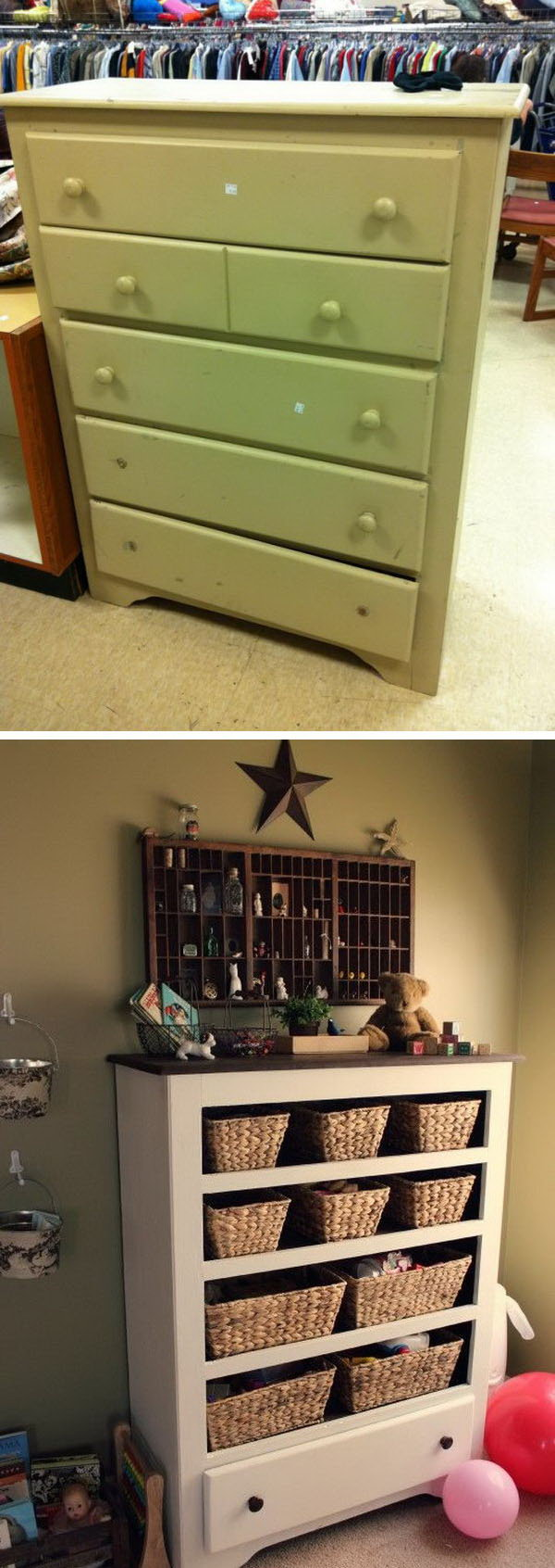 Diy home storage from drawer before ideas