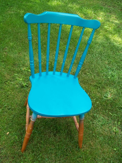 Old Chair to Creative Swinging Chair before
