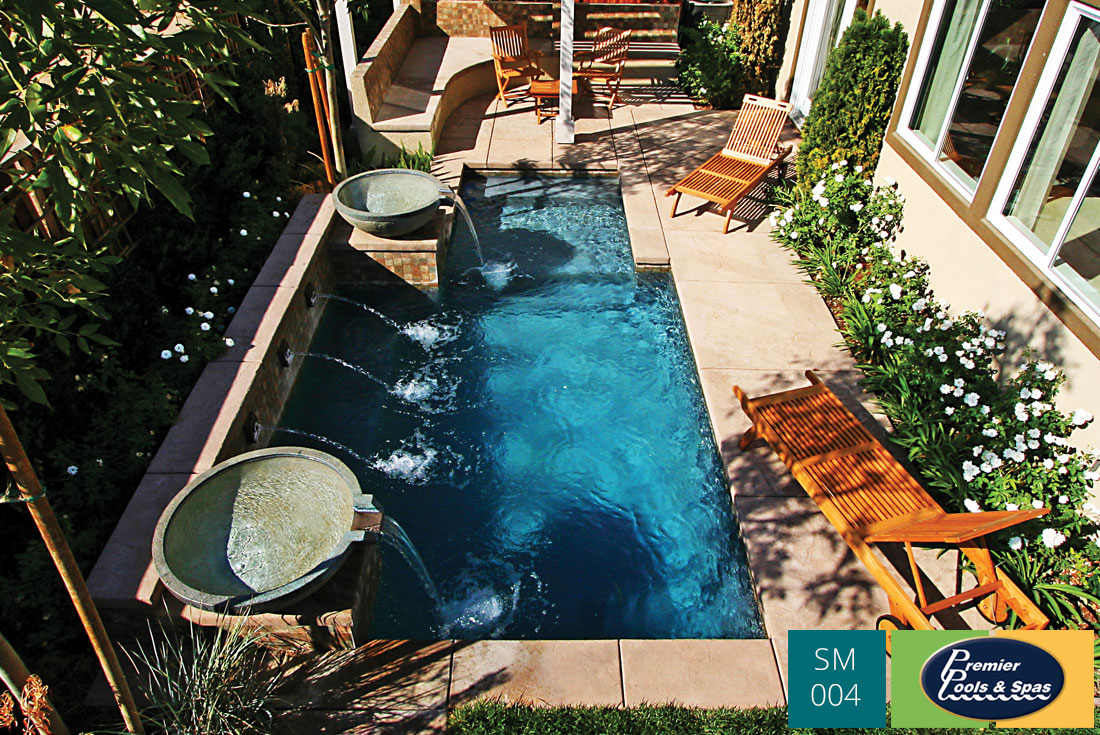 Awesome Swimming Pools For Small Spaces