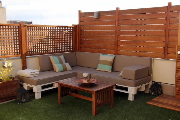 Creative outdoor pallet ideas from upcycled pallet