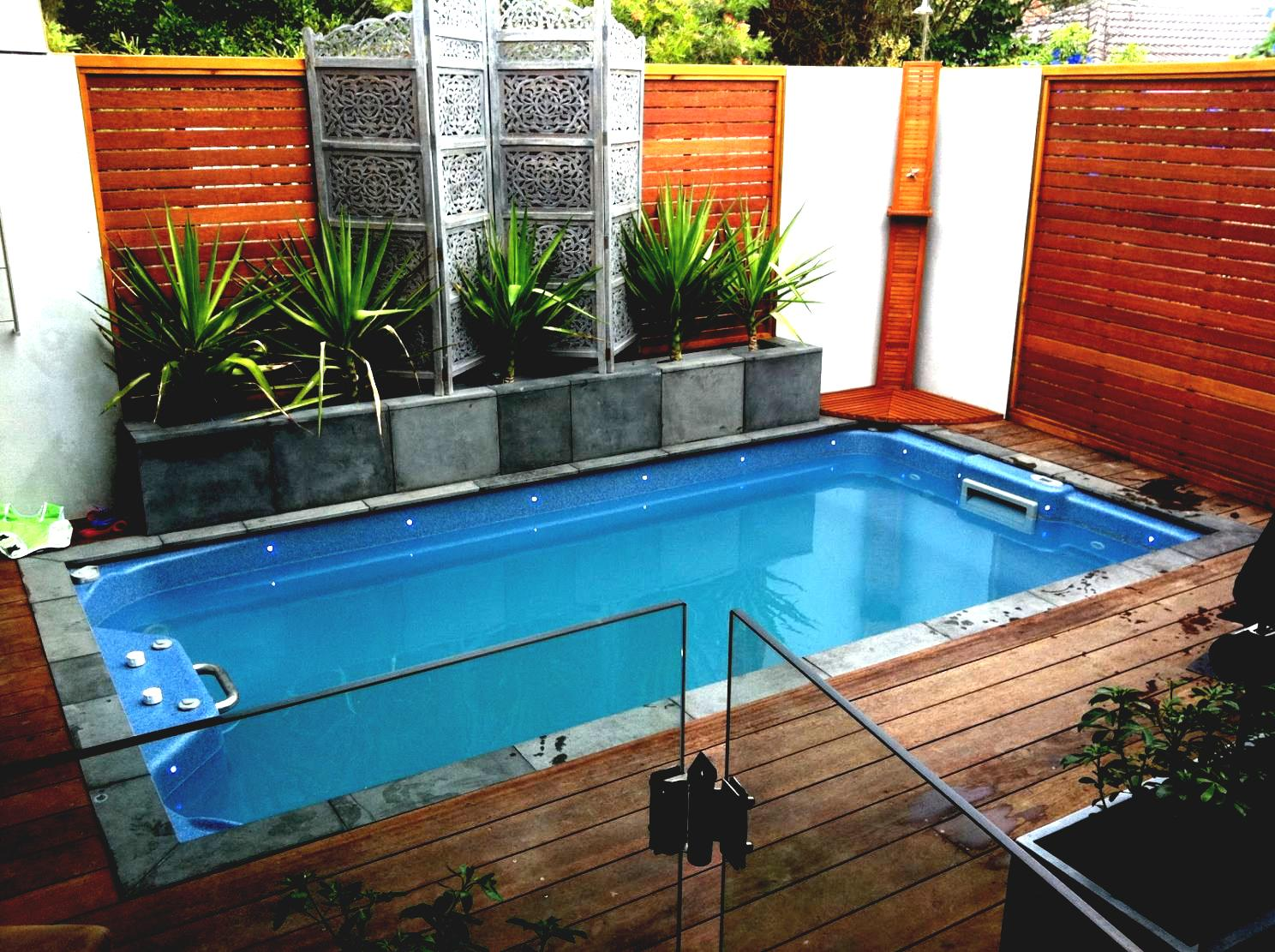 Small Backyard Designs With A Pool