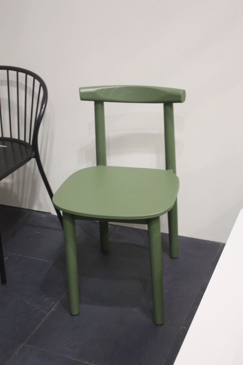 Atipico Clean Lines Wood Chair Dining Room Decoration Furniture Ideas