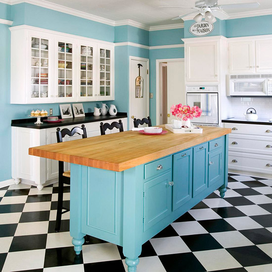 stock cabinetry freestanding kitchen island