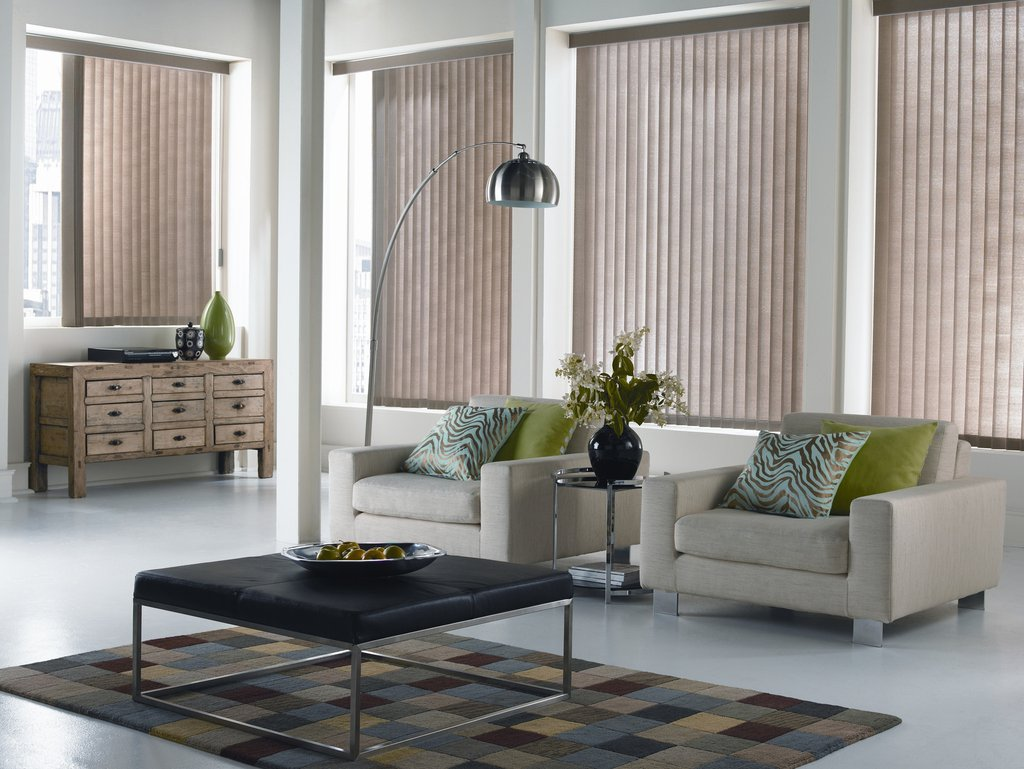 Fresh Blinds For Living Room In Large Window