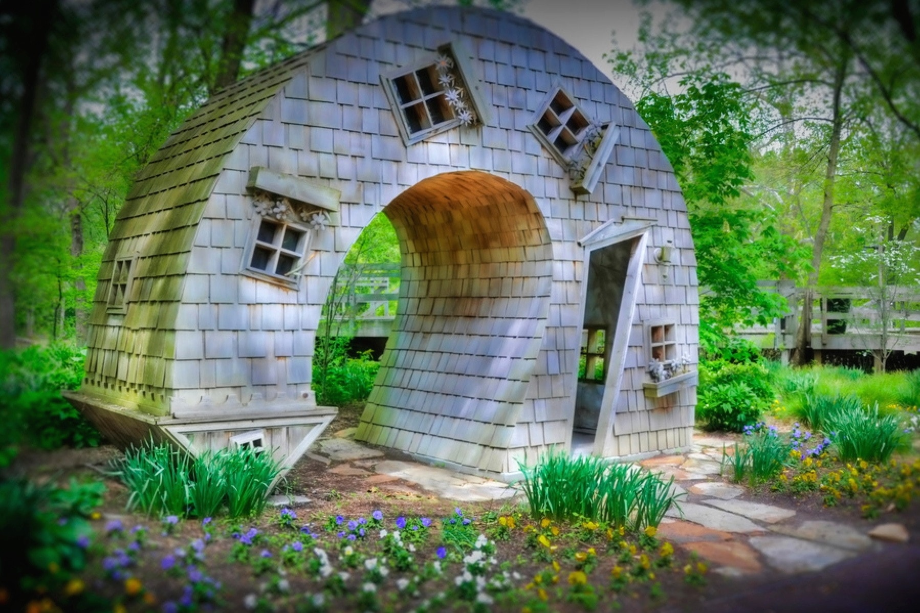 The curved house indianapolis indiana