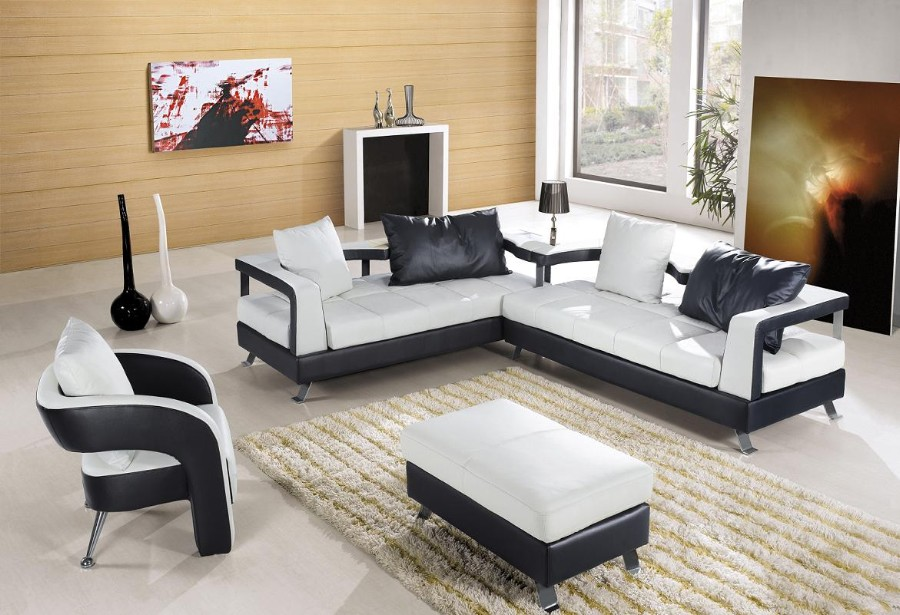 Fantastic Design Of The Living Room Areas With White Modern Sofa Sets With White Rugs Ideas
