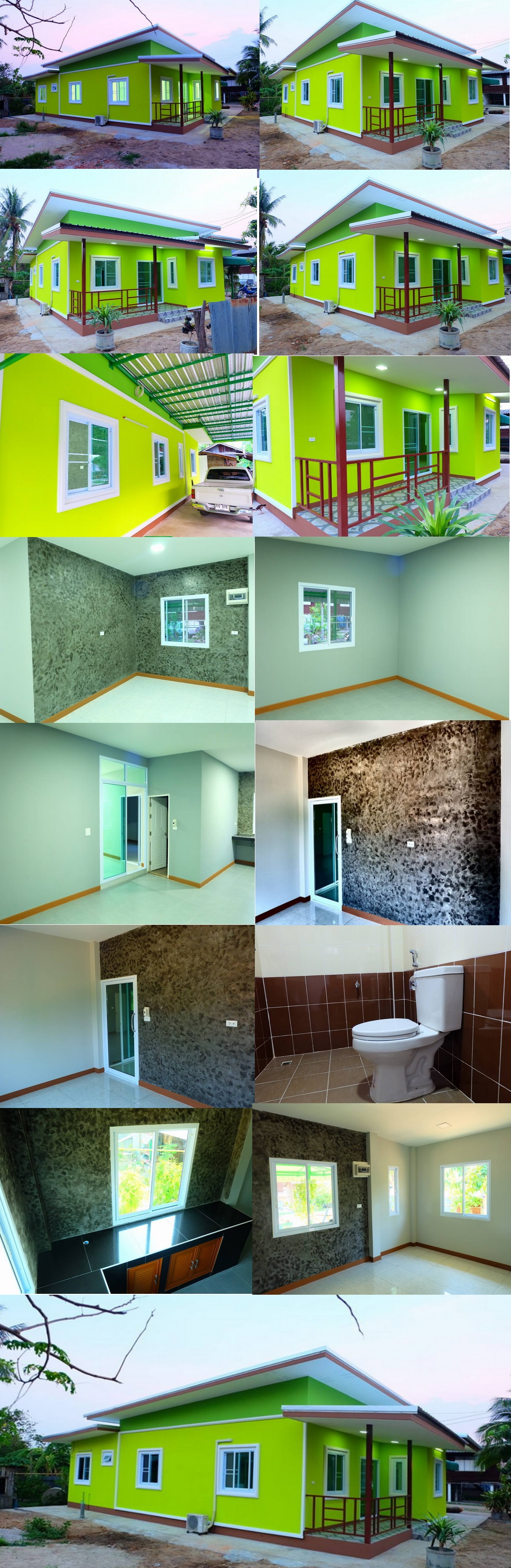 Small house design with interiors decoration
