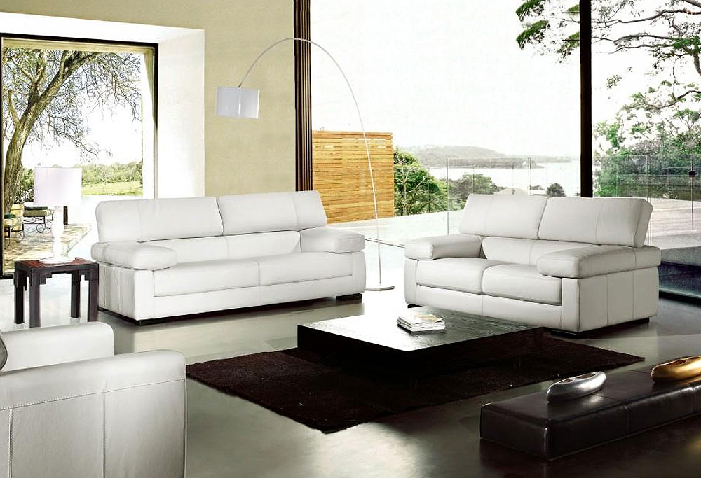 Surprising Contemporary Leather Sofa Sets Contemporary Taupe Leather Set