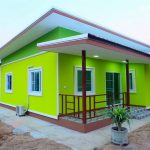 This Small House Design With Interiors Build on Living Area 104 sq.m Will Leave You Breathless