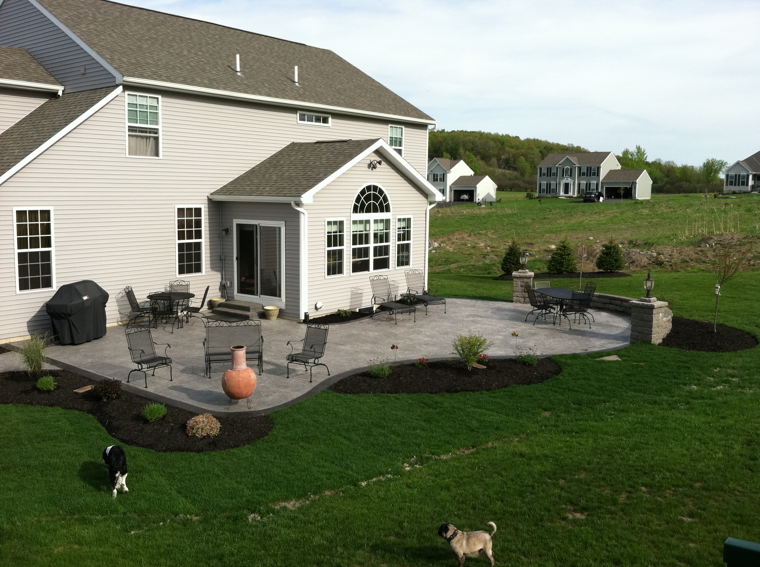 Im pretty sure you will like this stamped concrete patio designs pictures