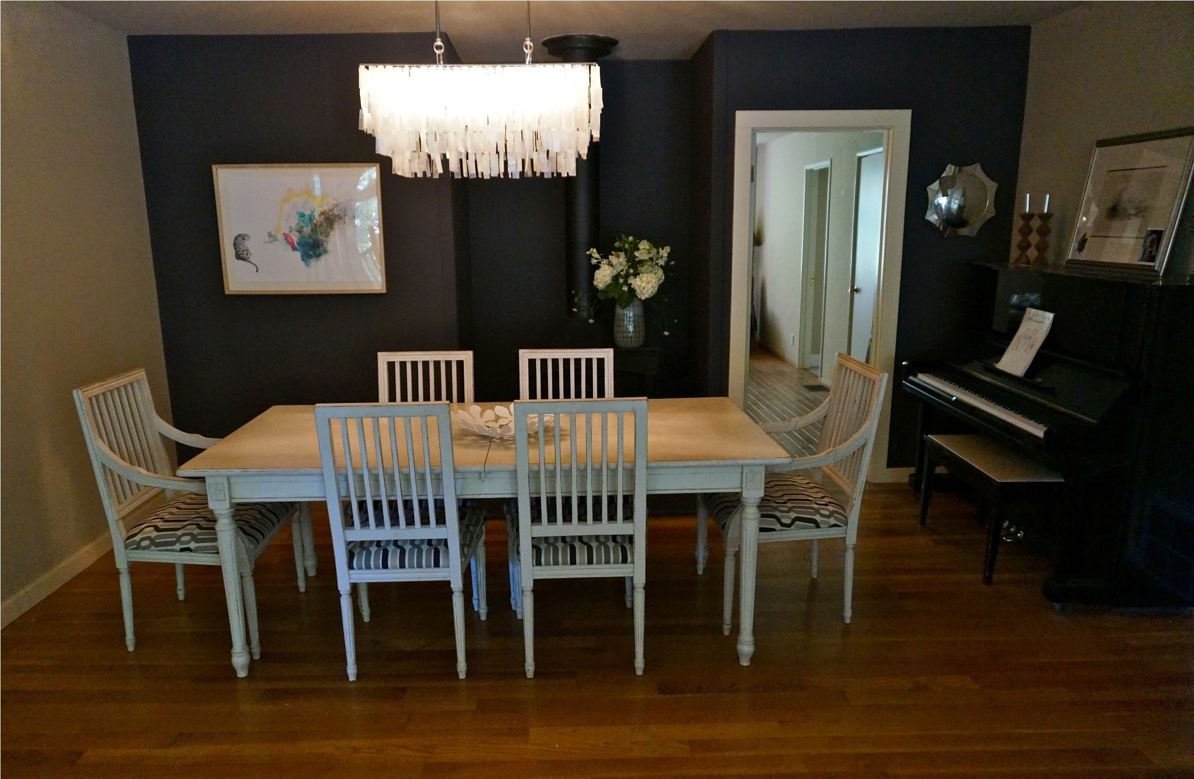 Modern formal crystal chandeliers for dining room ideas