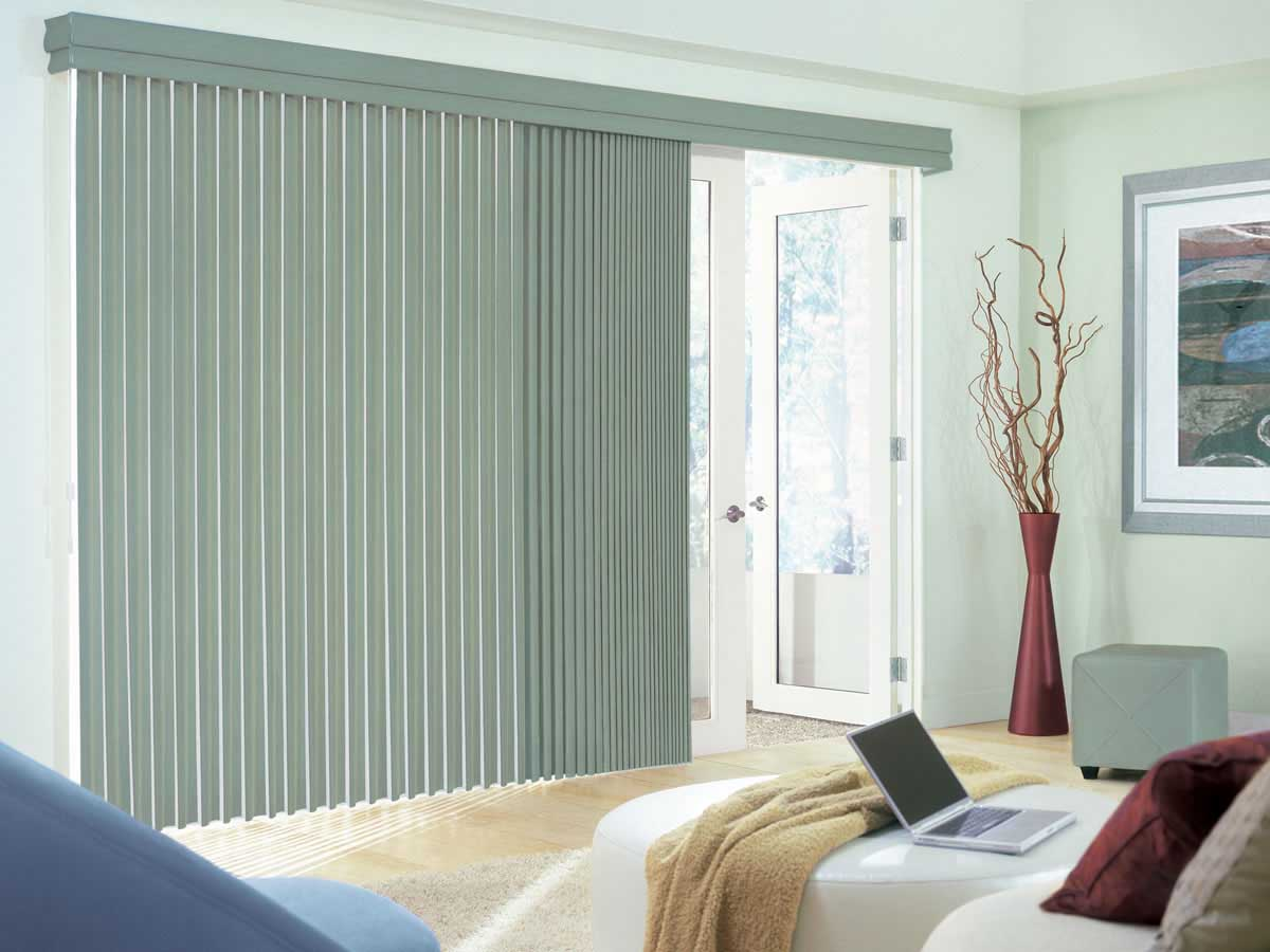 Replacement vertical blinds modern window treatments