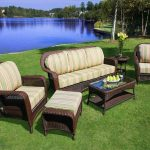 Cool Resin Wicker Patio Furniture For All Weather