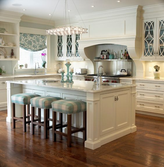 Rustic kitchen designs with islands with islands and cart