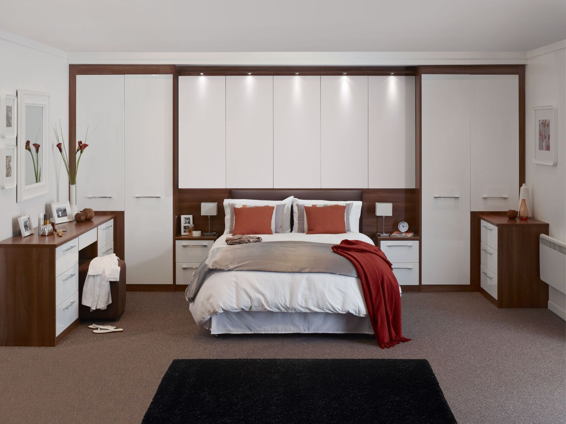22 Exciting Fitted Bedroom Wardrobes and Cabinets Furniture Ideas