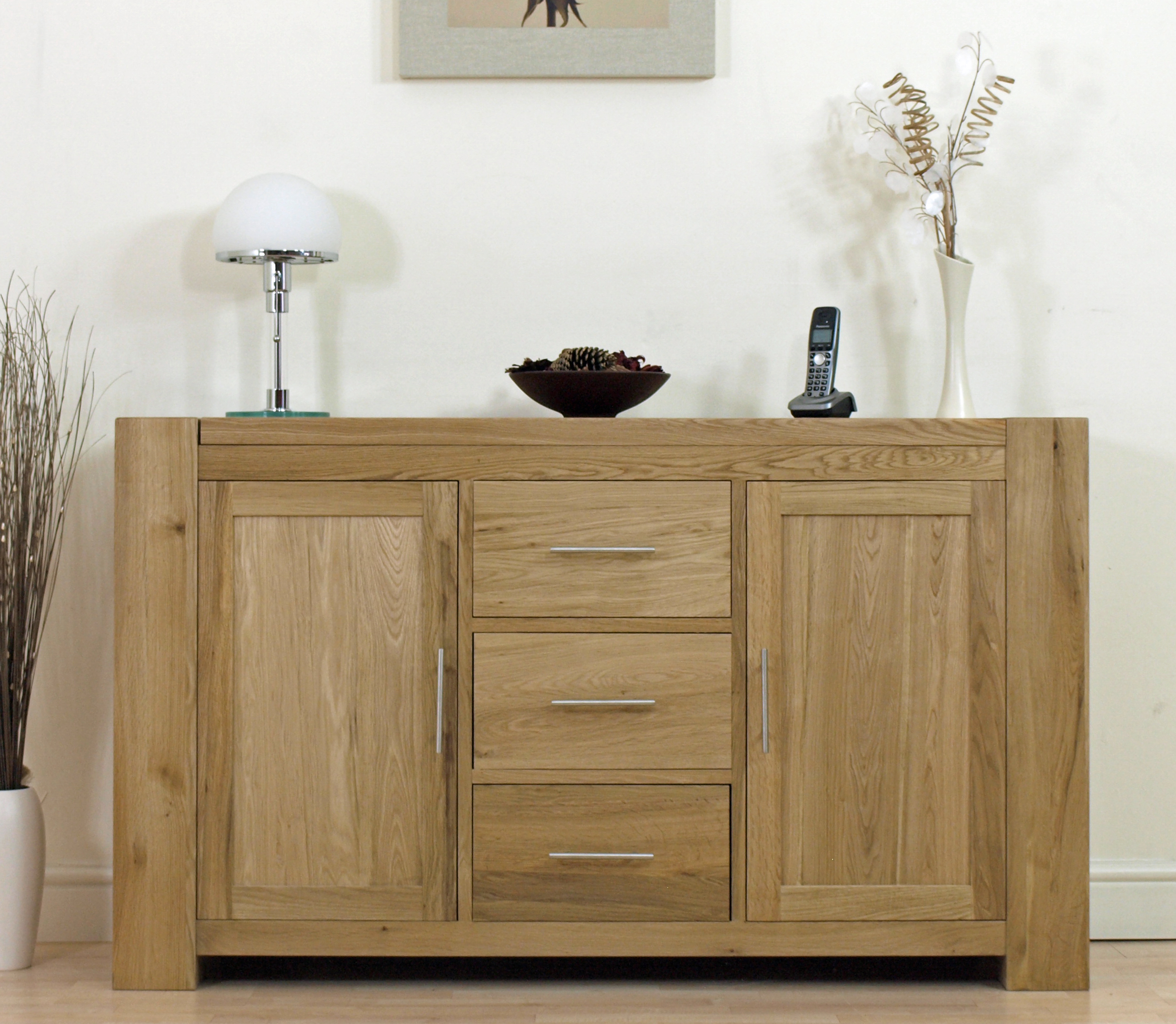 Solid Oak Sideboard is Your First Choice Living Room Furniture