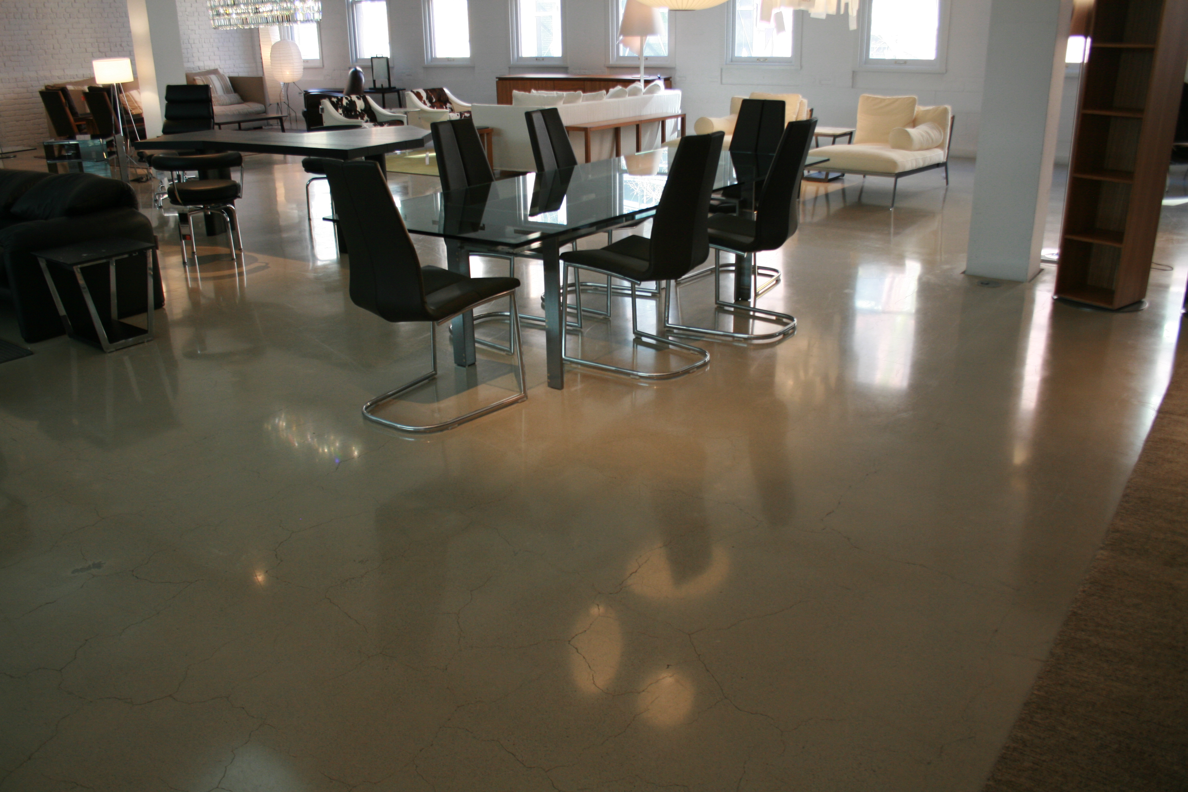 Polished concrete floors reside white polished concrete ntial small home floor plans