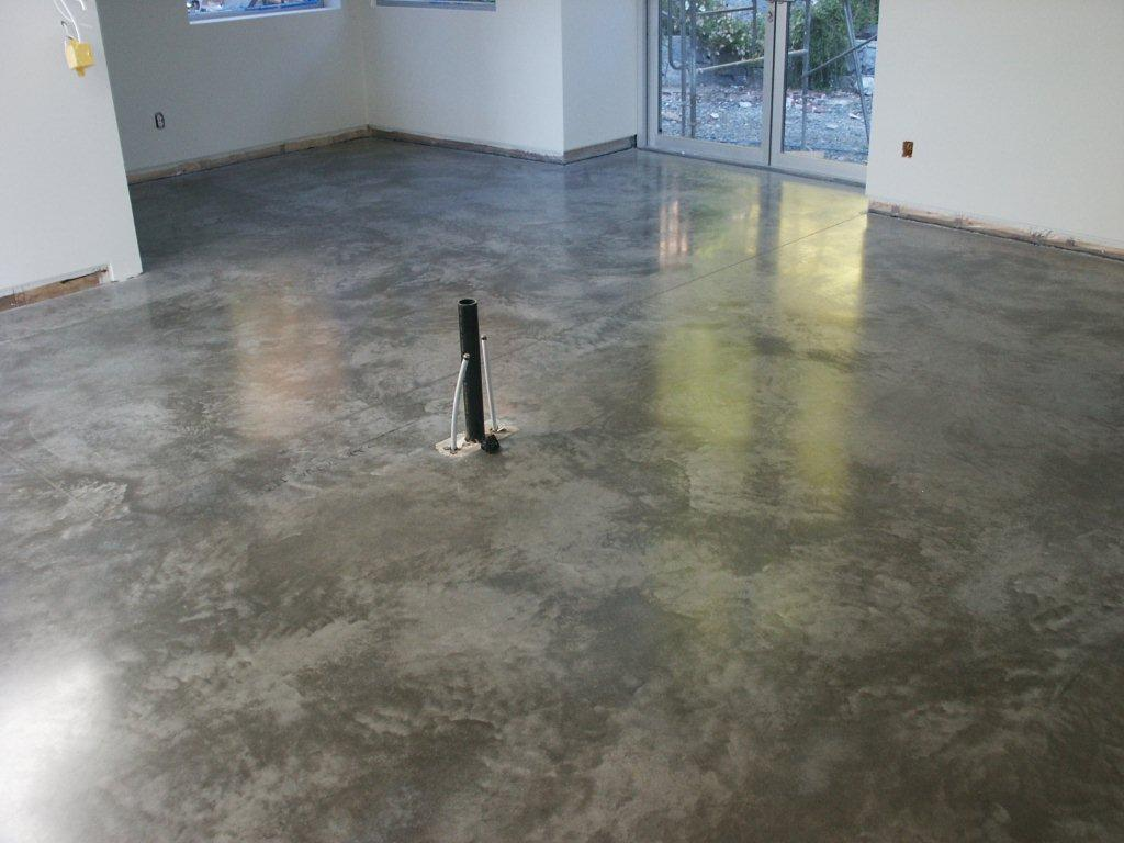 Polished concrete floors residential polished concrete flooring options ideas for modern home flooring