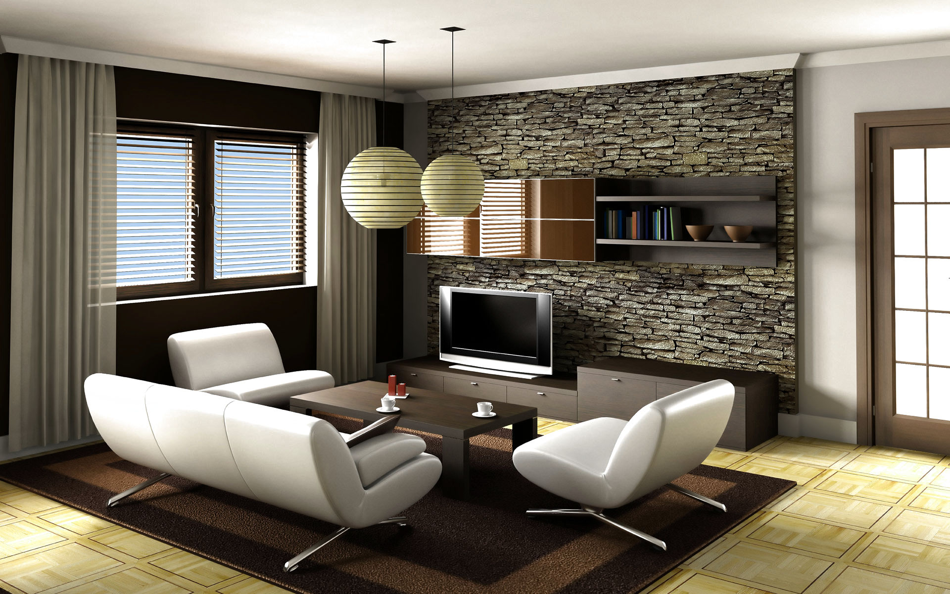 16 Smart Living Room Decorating Ideas With Modern Furniture Set