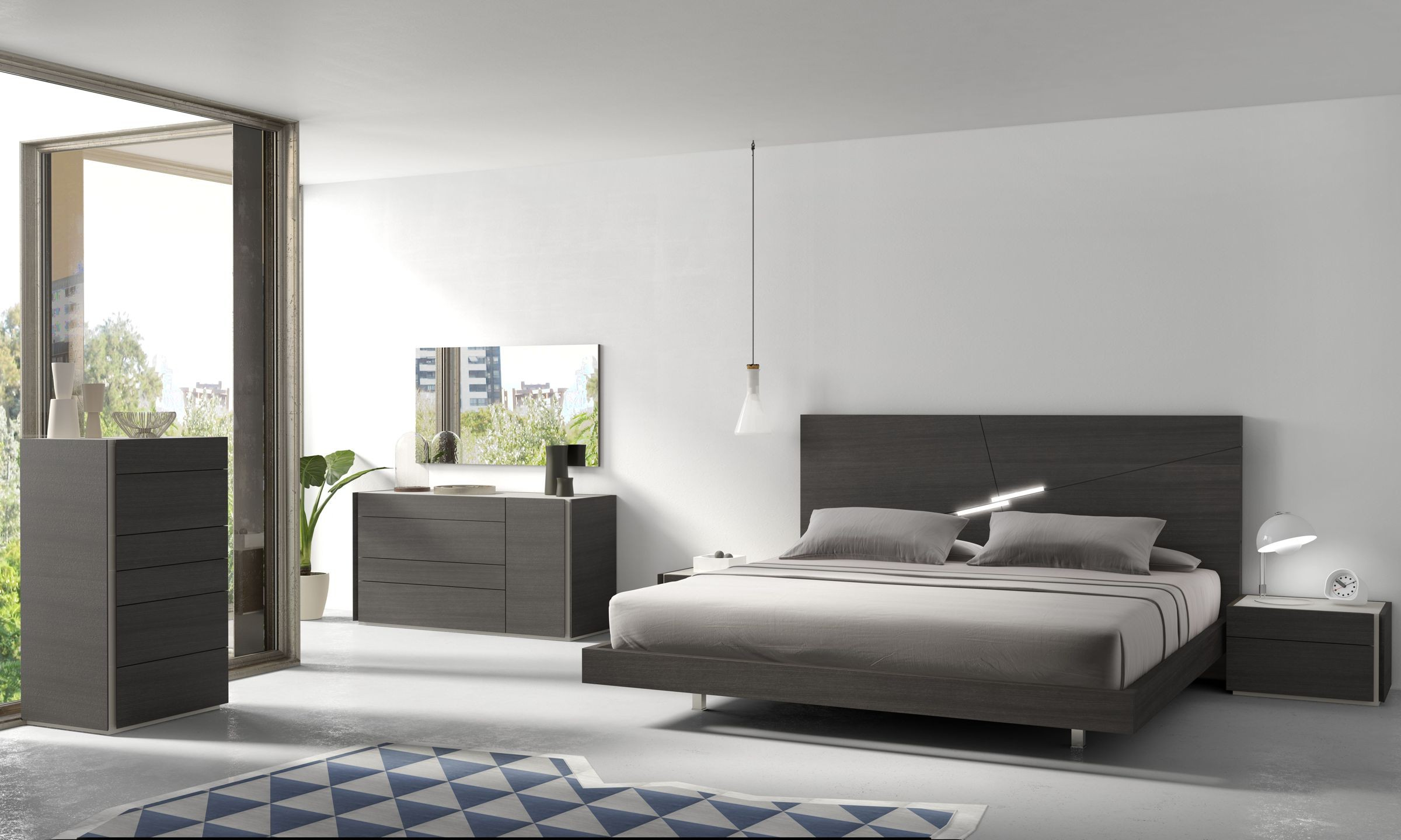 Creative Modern bed bedroom furniture and would improve with Modern